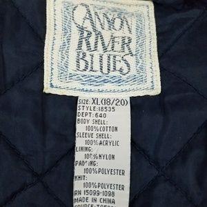 Canyon River Blues Jackets & Coats - Canyon River Blues Mens Youths Letterman Varsity